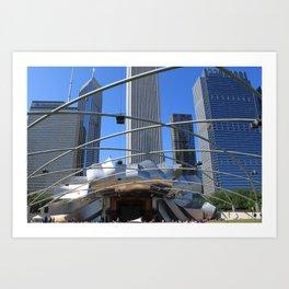 Jay Pritzker Pavilion, Millennium Park, Chicago Art Print