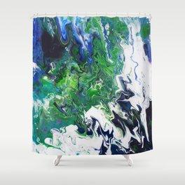 Arctic Moss Shower Curtain