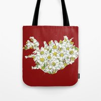 iceland Tote Bags featuring Iceland by Ursula Rodgers