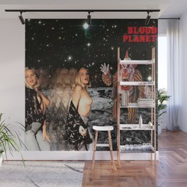 Blood Planet Wall Mural