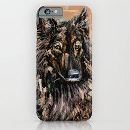 Jessie the Belgian Tervuren Dog iPhone Case