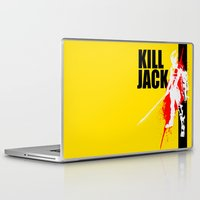 borderlands Laptop & iPad Skins featuring KILL JACK - ASSASSIN by Resistance