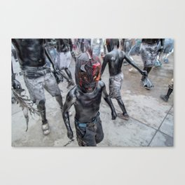 Luchadorcito Canvas Print