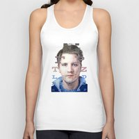 mike wrobel Tank Tops featuring Mike by Justin Yanke