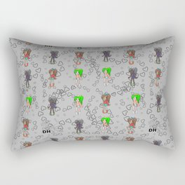 Colored Bratz Rectangular Pillow