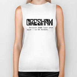 Gresham - laws Biker Tank