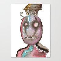 stitch Canvas Prints featuring Stitch by Dead Rabbit