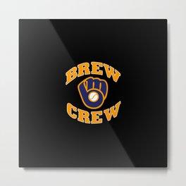 Milwaukee Brew Metal Print