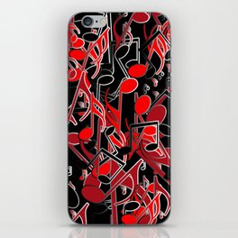 Music is my life iPhone Skin