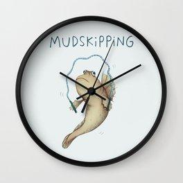 Mudskipping Wall Clock