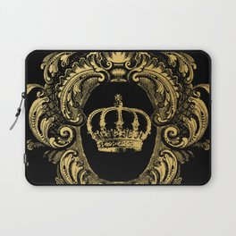 Gold Crown Laptop Sleeve