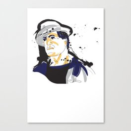 Rocky Balboa_INK Canvas Print