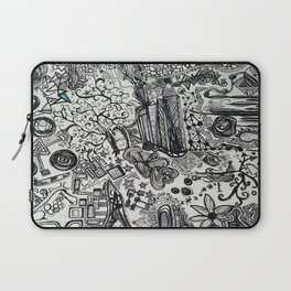 Black/White #2 Laptop Sleeve