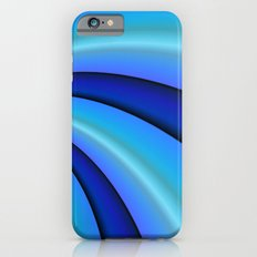 Shades of Blue iPhone 6s Slim Case