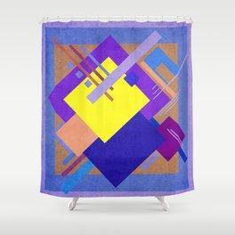 Geometric illustration 51 Shower Curtain