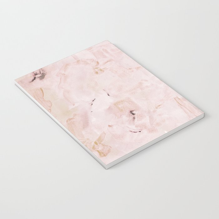 abstract-soft pink Notebook