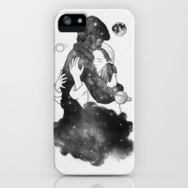The feeling you gave me. iPhone Case