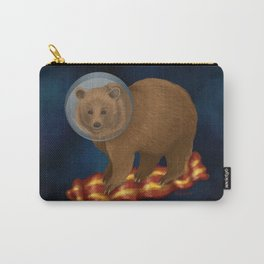 Space Bacon Bear Carry-All Pouch