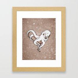 Just A Crush Framed Art Print