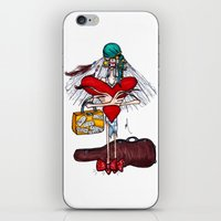 gypsy iPhone & iPod Skins featuring Gypsy by Natalie Easton