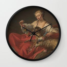 Jean B Pierre - The Favourite Lamb (Le Mouton Favori) Wall Clock