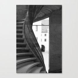 spiral staircase Torgau Canvas Print