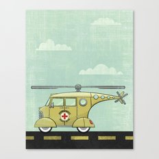 Atomic County Search and Rescue Canvas Print