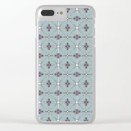 Geometrical patterns Clear iPhone Case