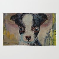 shakespeare Area & Throw Rugs featuring Shakespeare by Michael Creese