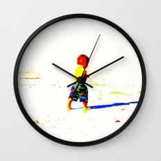 Straight Ahead to a Wonderful World! Wall Clock