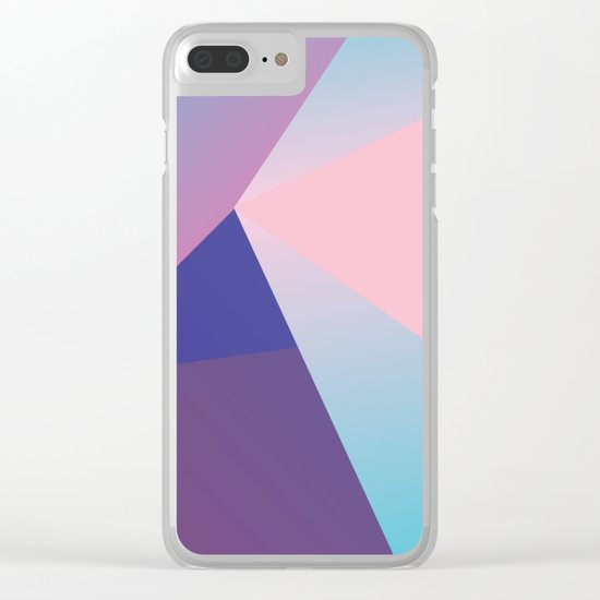 Dimentions Clear iPhone Case