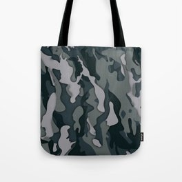 Dark Camo Tote Bag