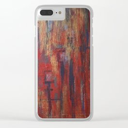 Natalia's street Clear iPhone Case