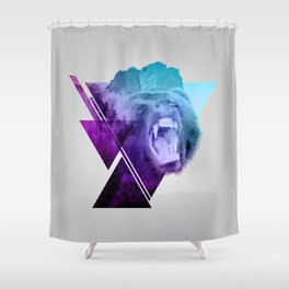 Altitude Growls Shower Curtain