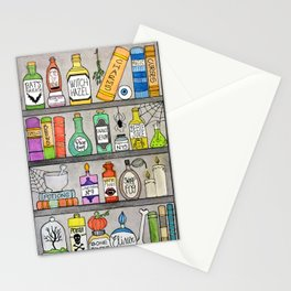 Spooky Halloween Apothecary Stationery Cards