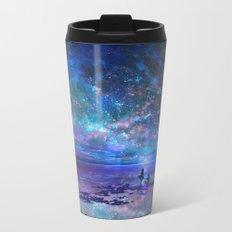 Ocean, Stars, Sky, and You Metal Travel Mug