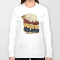 pie Long Sleeve T-shirts featuring American Pie by Megs stuff...