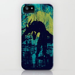 Forest Monster iPhone Case