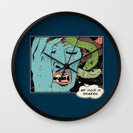 Mythical World Problems Wall Clock