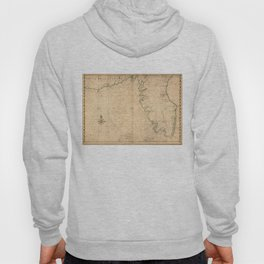 Vintage Map of Florida (1639) Hoody