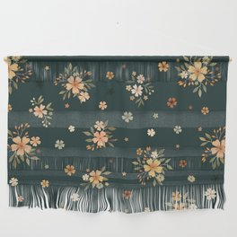 Goodnight floral Wall Hanging