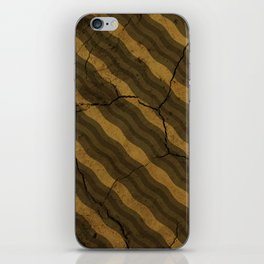 Vintage Fossil Bacon iPhone Skin