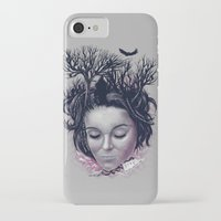 laura palmer iPhone & iPod Cases featuring Laura by Jorge Garza
