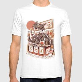 Kaiju street food T-shirt