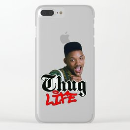 Thug Life Will Clear iPhone Case