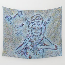 Ao P-Chan Wall Tapestry