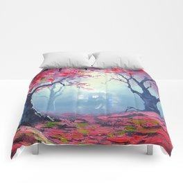 TARDIS CLOUD art painting Comforters