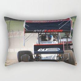 Kyle Larson motor heat Rectangular Pillow