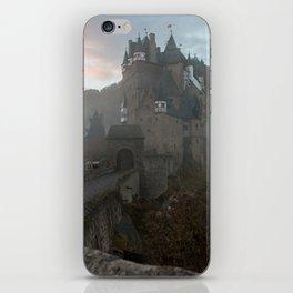 Morning light at Castle Eltz Germany iPhone Skin