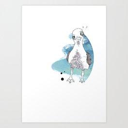 Steven Seagull Art Print